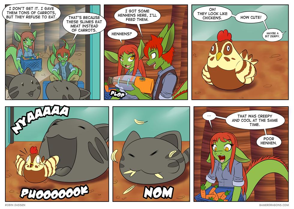 Gamer Dragon comic Slime Rancher 03