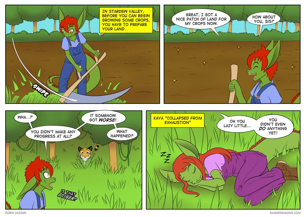 Gamer Dragon comic Stardew_Valley_2
